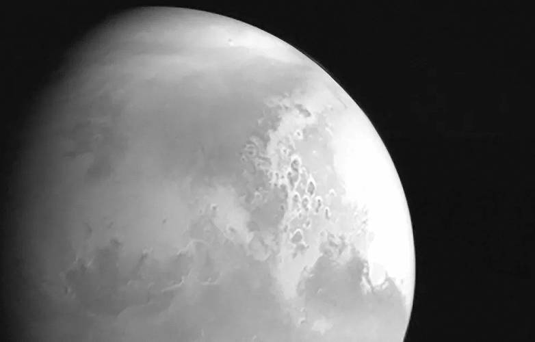 first image of Mars